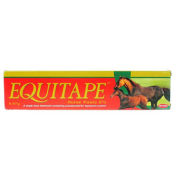 equitape horse wormer paste