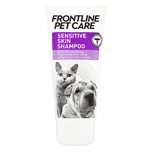 frontline pet care sensitive skin shampo