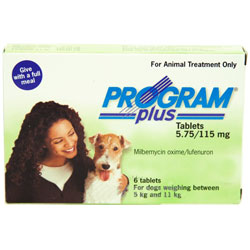 Program Plus for Dogs, Green, 5 - 11 Kg (11-20lbs)
