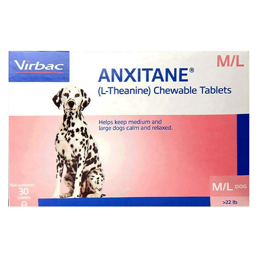 Anxitane Chewable Tablets for Medium/Large Dogs