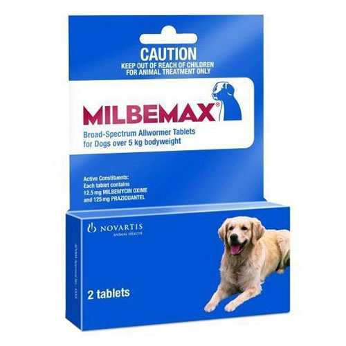 Milbemax Large Dog 5-25 Kg  (11-55lbs)