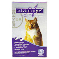 Advantage for Cats Over 4.5 Kg (Over 10lbs)