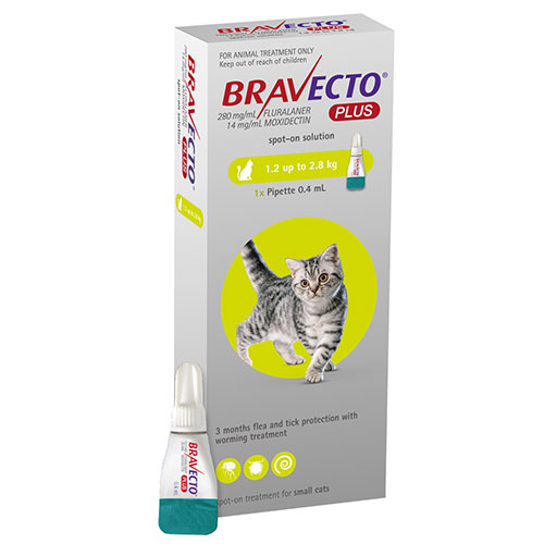 Bravecto Plus for Cat