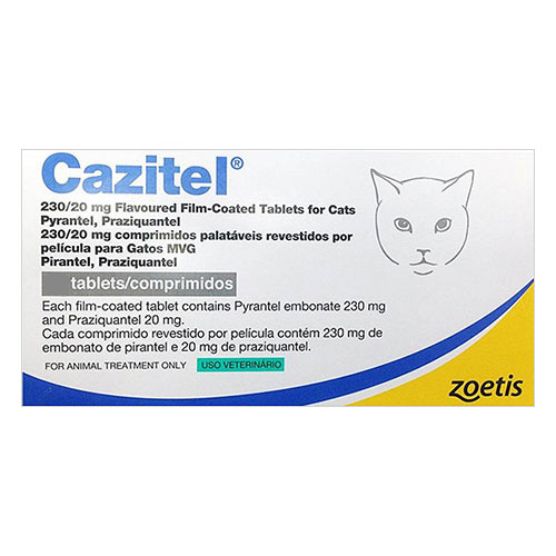 Cazitel Tablets for Cat