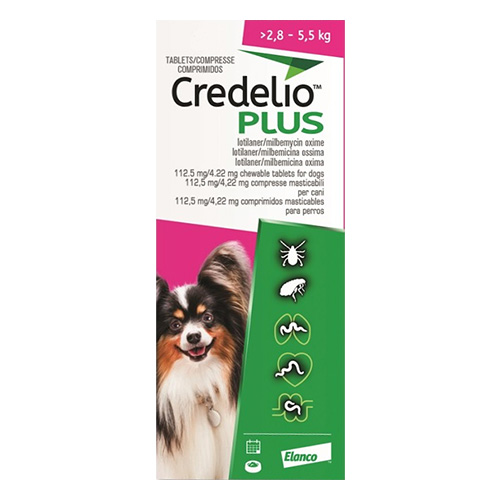 CREDELIO PLUS For Small Dog 2.8-5.5kg