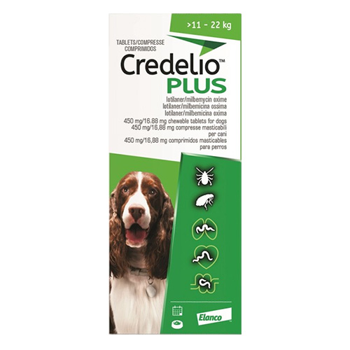 CREDELIO PLUS For Large Dog 11-22kg
