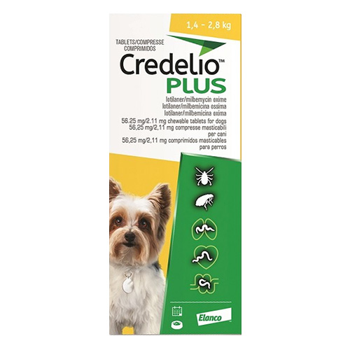 CREDELIO PLUS For Extra Small Dog 1.4-2.8kg