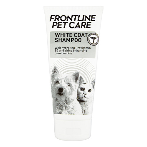 Frontline Pet Care White Coat Shampoo for Dog