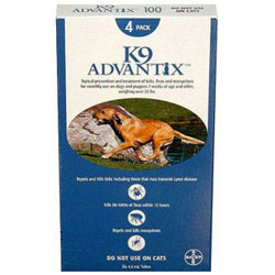 K9 Advantix for Extra Large Dogs, Blue, Over 25 Kg (Over 55lbs)