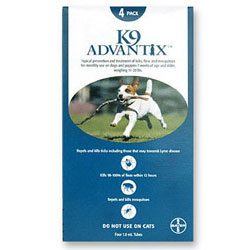 K9 Advantix for Medium Dogs, Aqua, 4 - 10 Kg (11-22lbs)