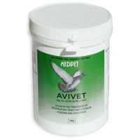 Avivet for Pigeon & Caged Birds 100 gm