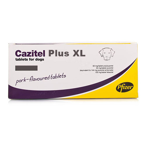Cazitel Plus  XL Tablets for Large Dogs