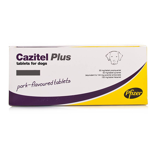 Cazitel Plus  for Small and Medium Dogs, Up To 10 Kg (Up To 22lbs)
