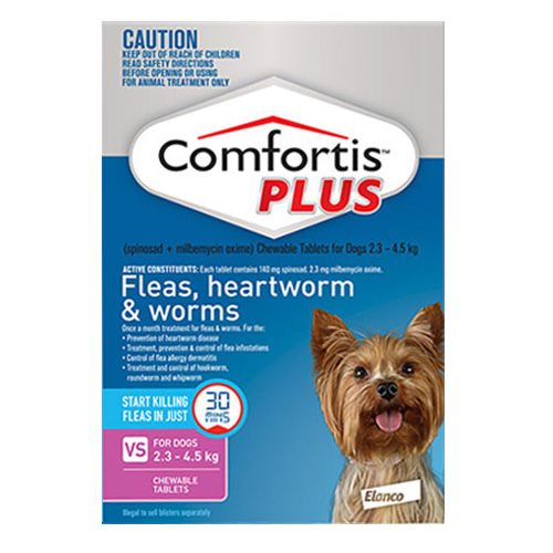 Comfortis Plus For Dogs For Dogs 5 - 10 Lbs ( PINK )
