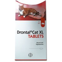 Drontal for Large Cats Over 4 Kg (Over 8lbs)