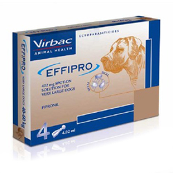 Effipro Spot On  for Extra Large Dogs, Over 40 Kg (Over 88lbs)