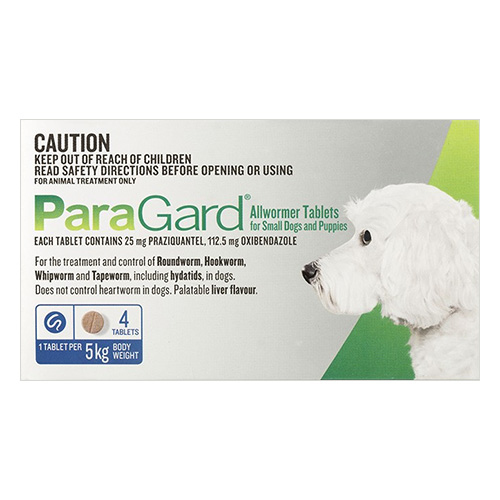 Paragard Allwormer for Dog